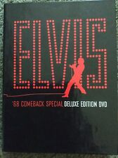 Elvis 68 Comeback Special Deluxe Edition DVD Out of Print RARE 3-Disc Set OOP