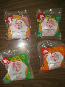 McDonald's Animaniacs #1 Pinky &The Brain #2 Goodfeathers #3 Dot & Ralph #4Wakko