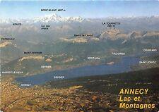 B31564 Panorama du lac d`Annecy et des montagnes  france