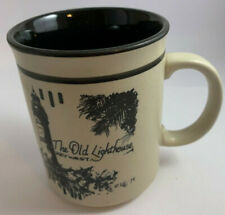 Vintage The Old Lighthouse Key West Florida Coffee Mug Built In 1847 Collectible