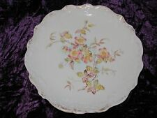 Antique Wedgwood Plate Retailer Mark AMS 1880s