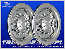"""TRUCK WHEEL TRIMS STAINLESS STEEL 22.5"""" SCANIA,VOLVO,DAF,MAN,IVECO,MERCEDES !!!!"""