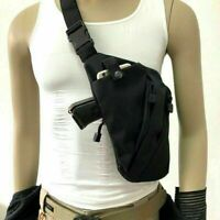 Tactical Invisible Anti-theft Gun Holster Chest Sling Cross Body Bag Pouch Pack