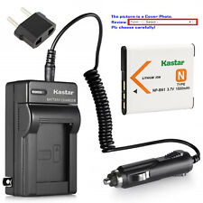 Kastar Battery Travel Charger for Sony NP-BN1 BC-CSN & Sony Cyber-shot DSC-W630