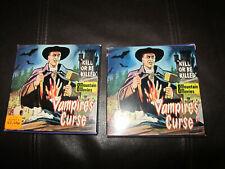 VAMPIRES CURSE SUPER 8 B/W SILENT 2 X 200FT 8MM FILM CINE HORROR RARE