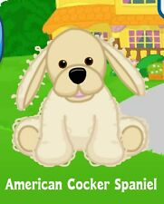Webkinz American Cocker Spaniel ( unused code only ) !Credible Proven Seller!