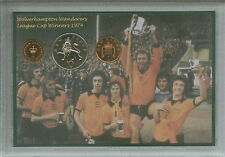 Wolverhampton Wanderers Wolves League Cup Final Winners Retro Coin Gift Set 1974