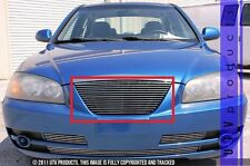 GTG Polished 1PC Replacement Billet Grille fits 2004 - 2006 Hyundai Elantra