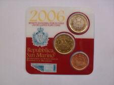 minikit san marino 2006(1 euro-50 cent-5 cent) FDC blister originale
