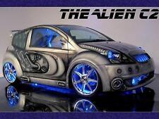 Car Photo Print A4 NEW 13 The Alien C2 Boys Toys