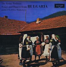 LP BULGARIA SONGS & DANCES LIVING TRADITION ARGO BHATTACHARYA