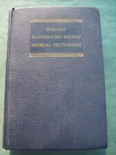 Blakiston's Illustrated Pocket Medical Dictionary 1952