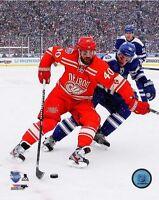 "2014 WINTER CLASSIC Henrik Zetterberg ""Detroit Red Wings"" LICENSED 8x10 photo"