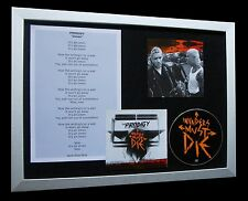 THE PRODIGY Omen LTD CD MUSIC FRAMED DISPLAY+STRANGELAND+EXPRESS GLOBAL SHIP!!