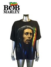Vintage Bob Marley Men's Black Short Sleeve T Shirt Size M by Zion