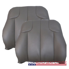 2001 02 Jeep Grand Cherokee Sport GAS D. P. Lean Back Leather Seat cover GRAY