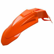 Acerbis Super Motard Front Fender KTM Orange - Fits: BETA 125 RR 2018-2019