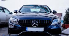 Kühlergrill Grill für Mercedes C Klasse W205 Schwarz glanz AMG Panamericana GT