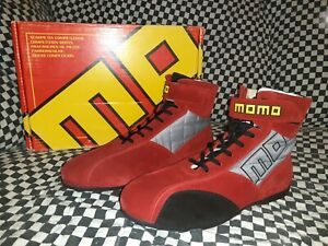 MOMO TOP GT Racing Shoes Red size 41 FIA  pro racer evo Rosso sparco, puma, omp,