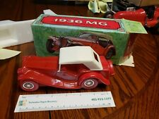 Vtg Avon Collectible - 1936 Mg Red Car Wild County After Shave, Full Unused