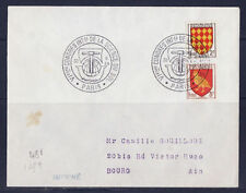 ec56/ Enveloppe     congrès  de la science du sol     Paris      1956