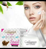 Snail Collagen Face Cream Anti Aging, Wrinkles, Fine Lines, Whitening Hydration
