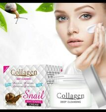 Snail Face Cream Anti Aging Cream with Snail Extract & Collagen for All Skin