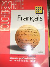 Français Foucher Pochette - 2de professionnelle Terminale BEP - 1997 - Manuel