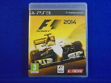 *ps3 F1 2014 Formula 1 One (NI) The Official Racing Game REGION FREE Pal English