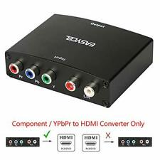 EASYCEL Component to HDMI Converter, 5RCA Component RGB YPbPr to HDMI Converter