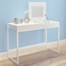 Dressing Makeup Vanity Table Bedroom Storage Furniture Modern 2 compartments