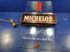 MICHELOB LIGHTED BEER BAR SIGN 18 X 10 (WORKING)