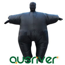Unisex Fan Operated Inflatable Fat Suit Halloween Costumes1.8M