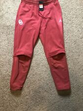 NIKE/JORDAN Oklahoma Sooners Therma Sphere Max Pants - Crimson (MEN'S LARGE) L
