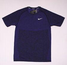 NWT Nike Dri-FIT Knit Men's Running Shirt, Sz S, 717758 459