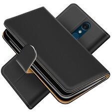 Handy Hülle für LG Q7+ Schutz Klapp Etui Booklet Flip Cover PU Leder Tasche