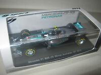 1:43 Mercedes GP MGP W05 Winner Australian 2014 N. Rosberg SPARK S3087 OVP NEU