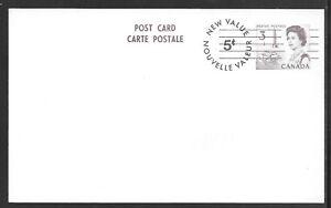 Canada Scott UX107d Webb P260 5 on 3-Cent Queen Elizabeth II  Card MINT XF