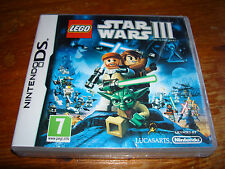 LEGO STAR WARS III 3 THE CLONE WARS ** NEW & SEALED ** Nintendo Ds Game