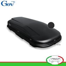 Gev S9190 - BOX BAULE UNIVERSALE PORTABAGAGLI AUTO X-TREME 600 LT NERO OPACO