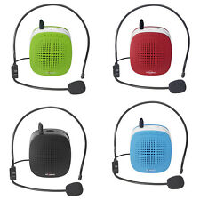 Portable Voice Amplifier Booster Speakers Touring Guide Teaching Public Speaking