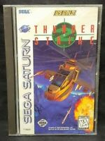 Thunderstrike 2 Sega Saturn, 1996 Game  1 Owner Bought New Complete case manual