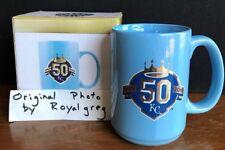 Kansas City Royals 50th Season Ceramic Coffee Mug SGA 7/22/18, Limited to 10,000