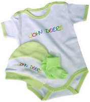 JOHN DEERE BABY GROW HAPPY DAYS BABYSET 7-12 MONTHS - H000111601