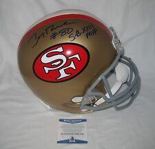 JERRY RICE signed/autographed SAN FRANCISCO 49ers F/S Helmet w/SB XXIII MVP- BAS