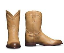 """Tecovas """"The Earl"""" Roper Cowboy Boots Desert Calf Mens 10D NEW"""