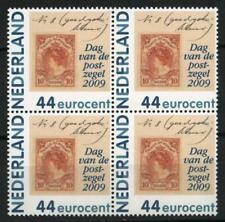 Nederland 2009 2682 pers. zegel Dag van de postzegel blok v 4