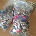 Job Lot Costume Jewellery Wear Resell Craft Car Boot 1.9kg 10% Donation To Rspca