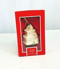 Lenox american by design 2016 our first christmas together cake ornament