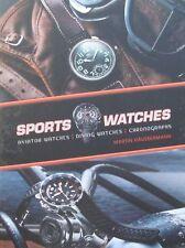 LIVRE/BOOK : MONTRES DE SPORT  - aviateur - chronographe - montre de plongée